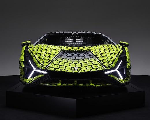 ランボルギーニ レゴ シアン スーパーカー 原寸大