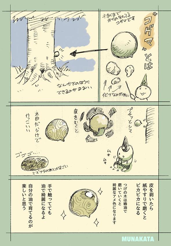 コダマの漫画・4ページ