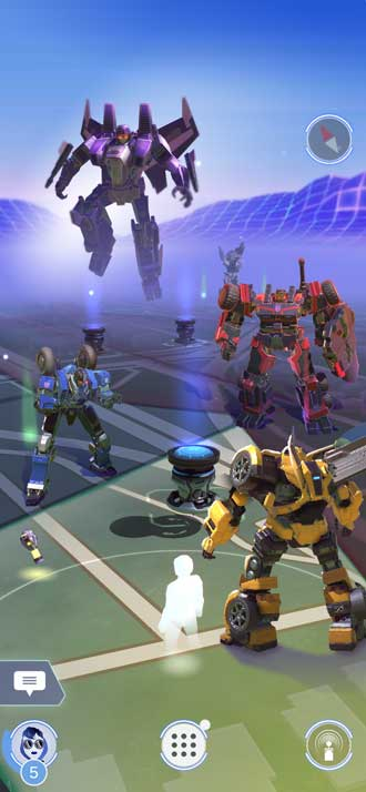 TRANSFORMERS: Heavy Metal AR スマホ ゲーム Niantic タカラトミー Hasbro