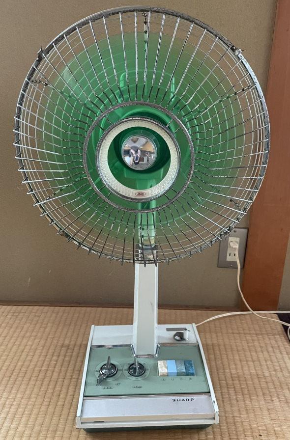 扇風機 コレクター 古い 高校生