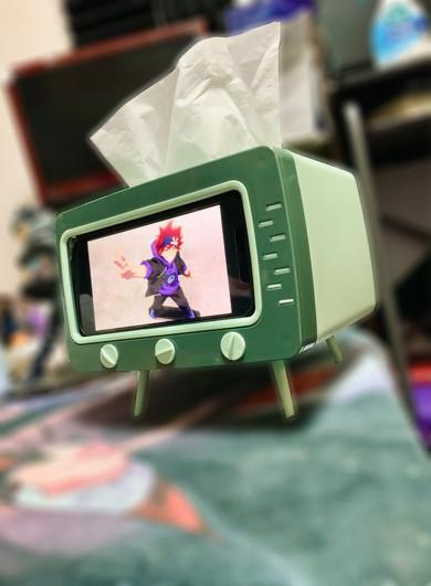 テレビ型ティッシュボックス