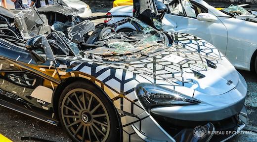 フィリピン 政府 高級車 破壊