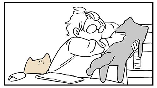 私の一日は猫を運ぶことから始まる2