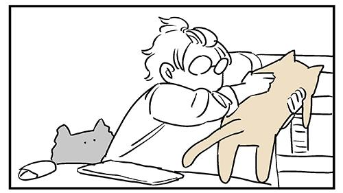 私の一日は猫を運ぶことから始まる4