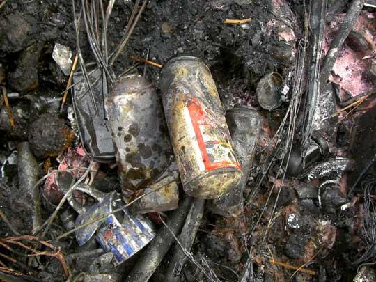 一宮市 ゴミ出し 注意喚起 ごみ収集車 火災 スプレー缶 リチウムイオン電池