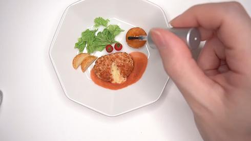 「食品サンプルですか?」 100均の粘土セットで作ったハンバーグがおままごとレベルをはるかに越えたすごさ