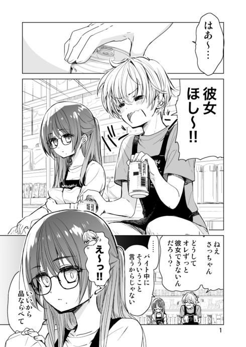 ドラッグストア店員さっちゃんの日常01