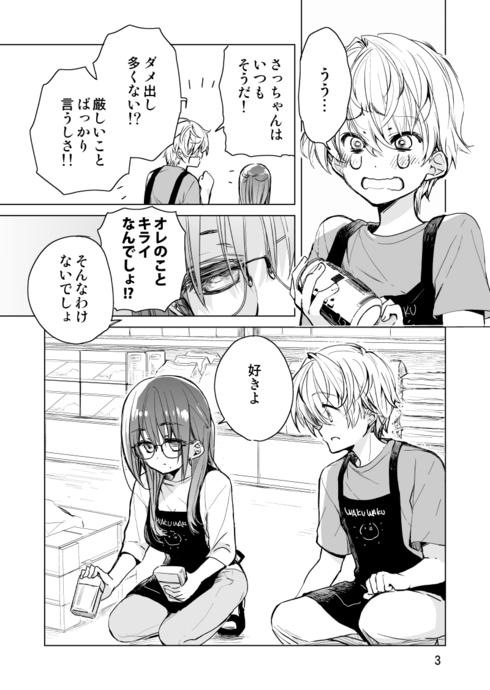 ドラッグストア店員さっちゃんの日常03