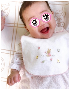 平野ノラ バブ子 第1子 娘 生後100日 お食い初め ブログ インスタ