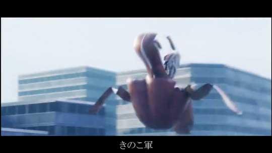 きのたけ戦争 兵器 変形 ロボット 妄想 動画 CG きのこの山 たけのこの里