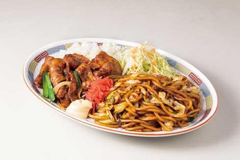 大阪王将 焼きそば ご飯 主食に主食 限定メニュー