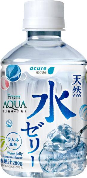acure JR東日本 天然水ゼリー