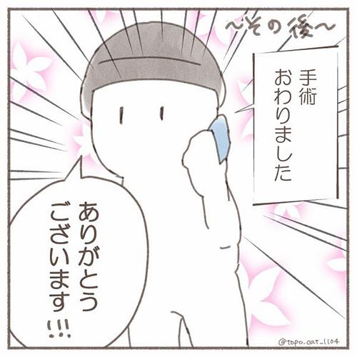 トポ避妊手術終編・当日10