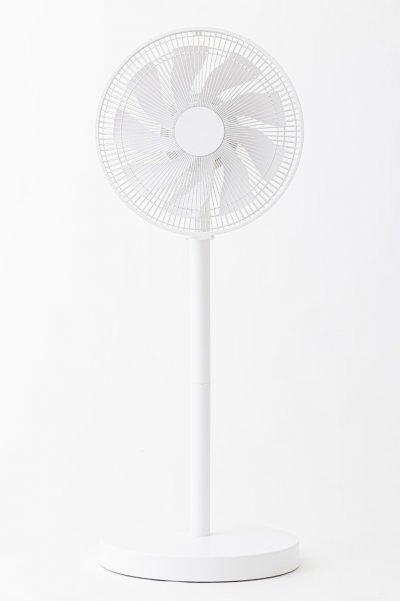 コンパクトにしまえる扇風機 外観