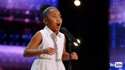 アメリカズ・ゴット・タレント 9歳少女 天才歌うまキッズ オペラ曲 ゴールデン・ブザー サイモン・コーウェル YouTube