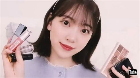 元乃木坂46 堀未央奈 卒業生 美容 アイドルメイク すっぴん公開 YouTube