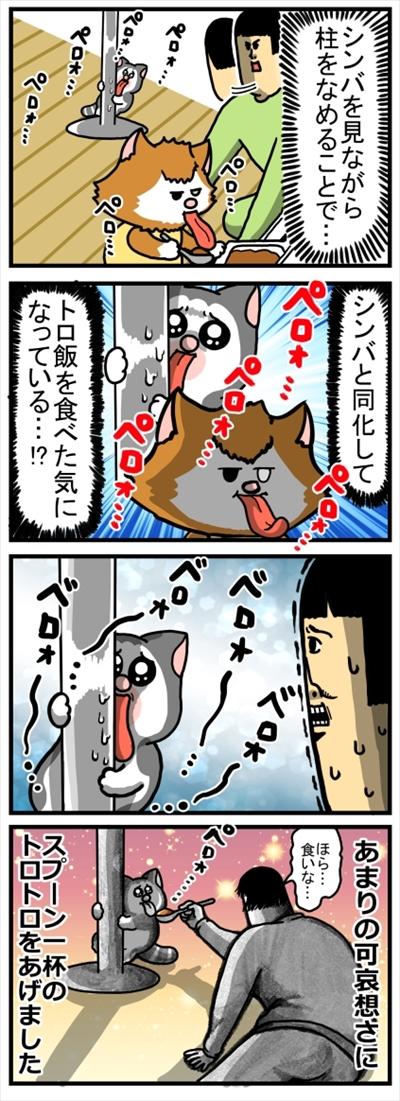 食いしん坊な猫ちゃん