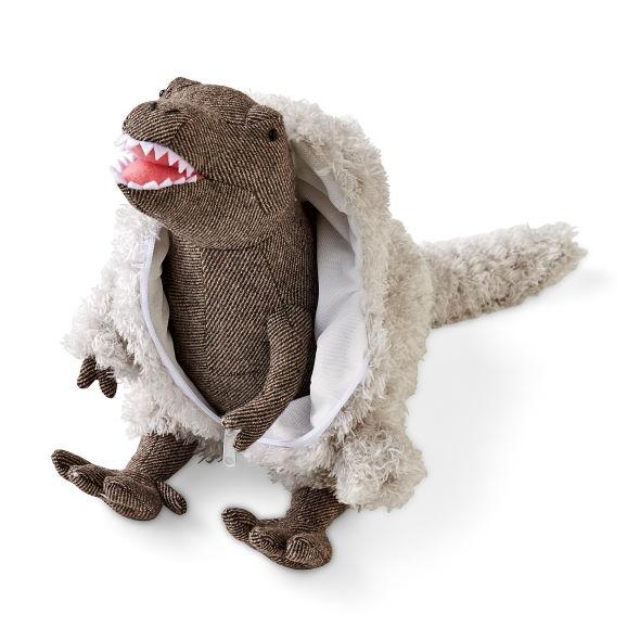 ティラノサウルス 羽毛 ぬいぐるみ フェリシモ