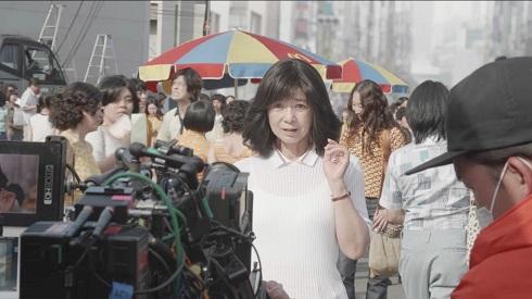 マクドナルド CM 宮崎美子 メイキング