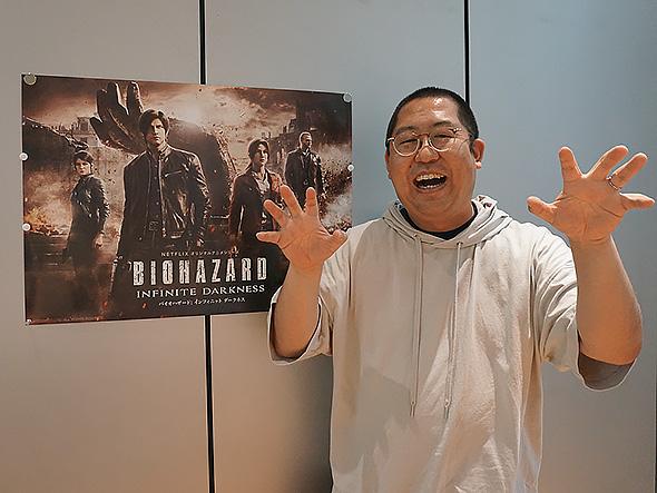 バイオハザード インフィニット ダークネス Netflix ゾンビ ゾンビ学 岡本健 インタビュー