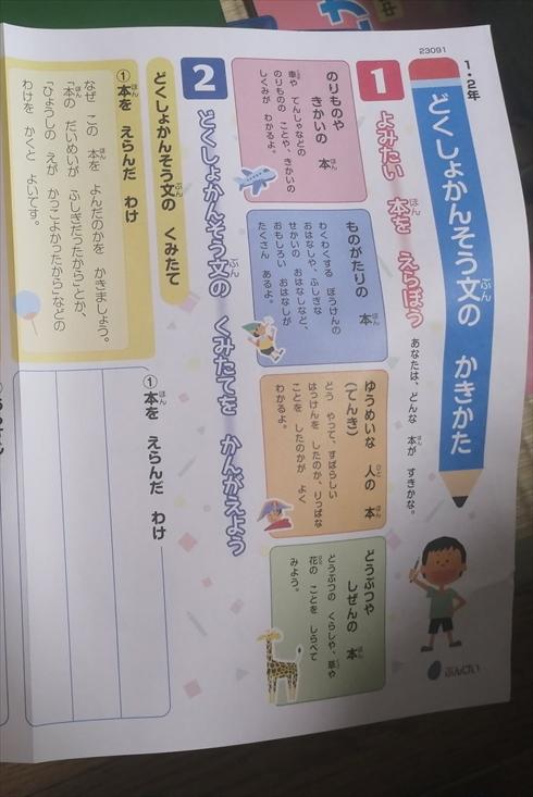読書感想文 夏休み 宿題