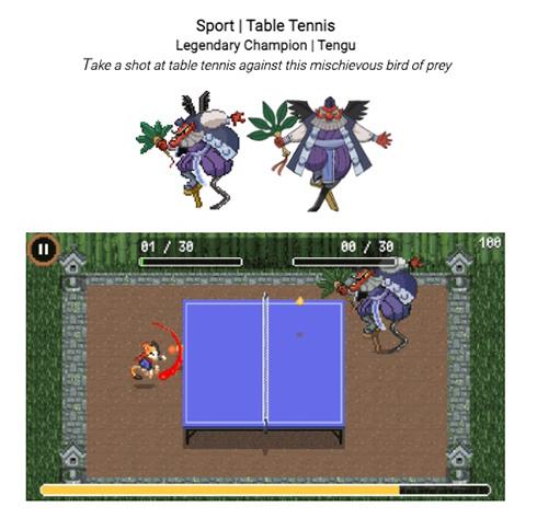 Googleの本気度がすごい! オリンピック開催にあわせた7種のスポーツミニゲームとアニメがDoodleで公開