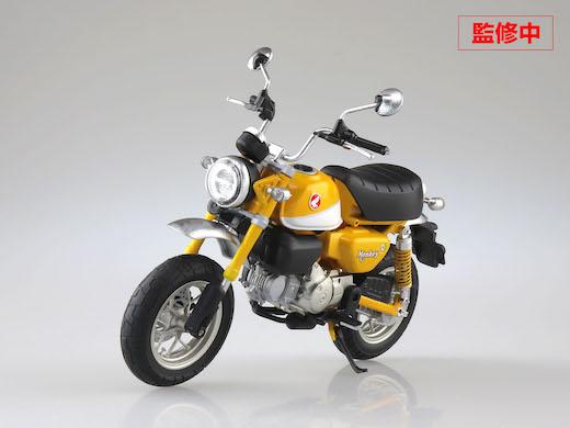 ホンダ モンキー125 1/12スケール 完成品 モデル 青島文化教材社