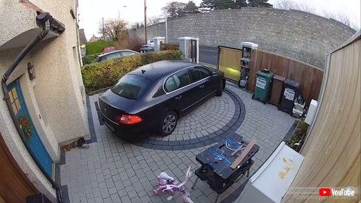ターンテーブル 駐車スペース 家庭用 自宅 一軒家