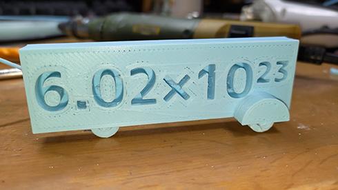 「3Dプリンタでモルカー作った」→「多分Molカーですよねこれ」 モルカー違いにツッコミせずにはいられない