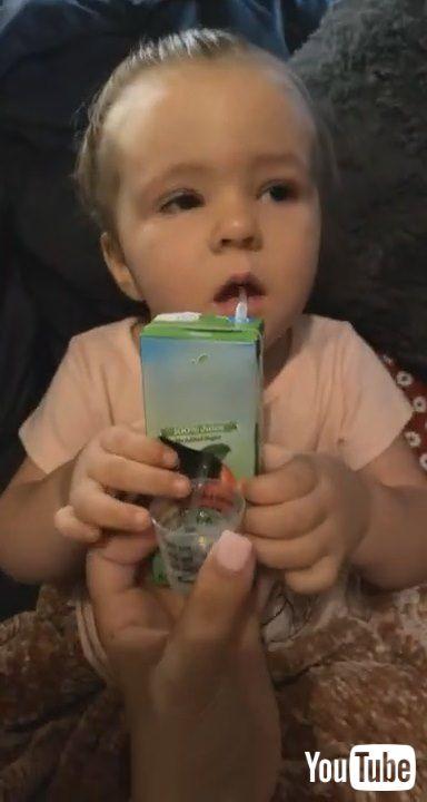 「Mom's Genius Medicine Delivery Method    ViralHog」
