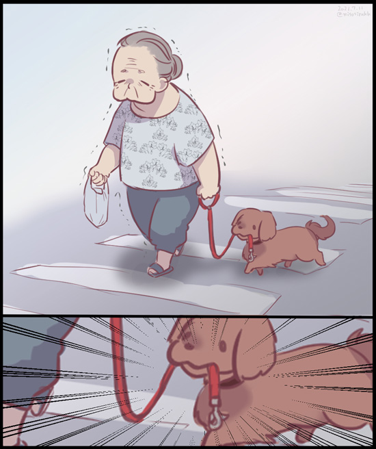すごい犬いた