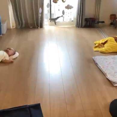 背ばい 日本代表 赤ちゃん 生後3カ月