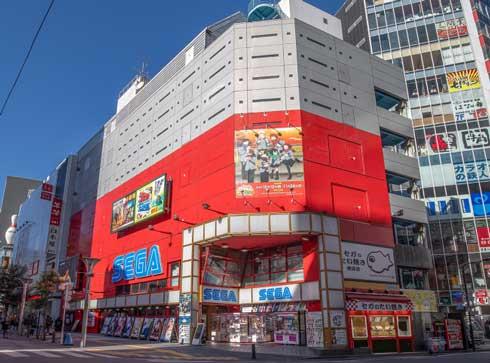 セガ池袋GiGO 閉館 ゲームセンター