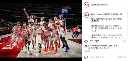 バスケットボール 東京オリンピック 決勝