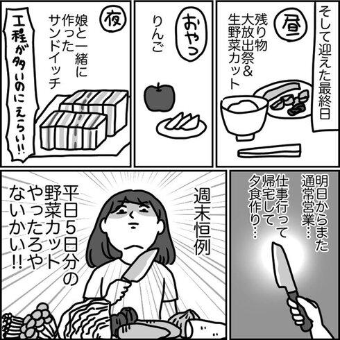 4連休!! 朝以外料理しないチャレンジ11