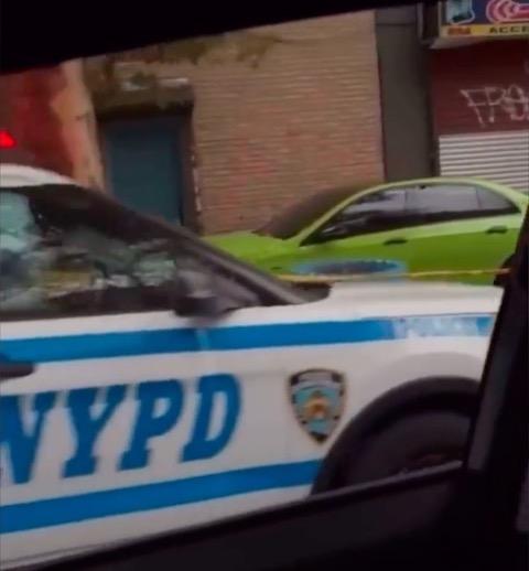 NYPD ニューヨーク 警察 事件 クルマ 暴走 マリファナ
