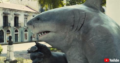 かわいさ一点で「ジョーズ」を超えたサメ映画「ザ・スーサイド・スクワッド」レビュー