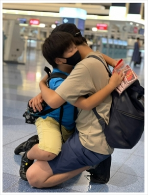武田双雲 息子 長男 智生 積極的不登校 アメリカ 留学
