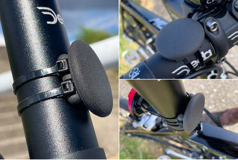 自転車用AirTagホルダー