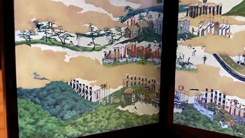 『関ケ原合戦図屏風』左下