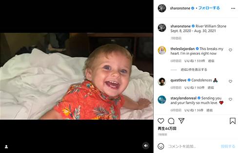 シャロン・ストーン 甥 リヴァー 多臓器不全 死去