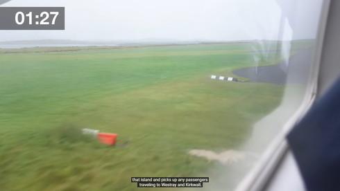 世界最短航空路線