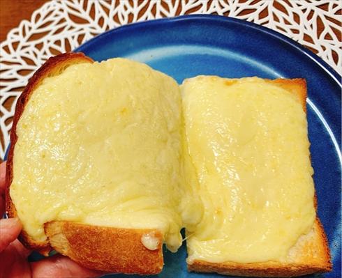 チーズトースト マヨネーズ