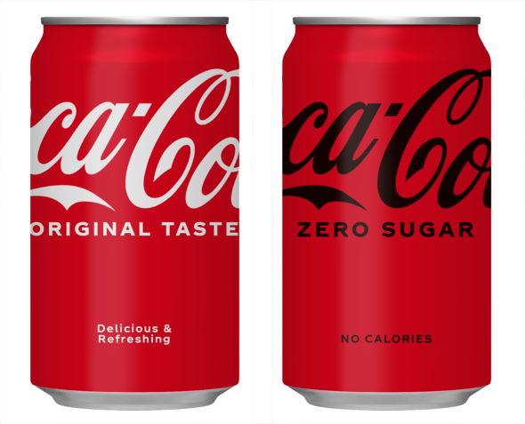 コカ・コーラ パッケージ 一新