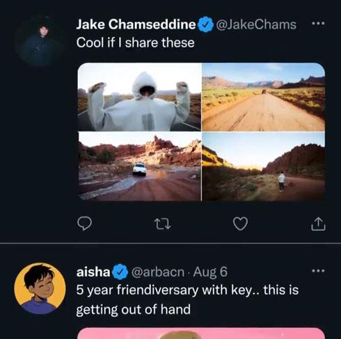 Twitter 表示変更