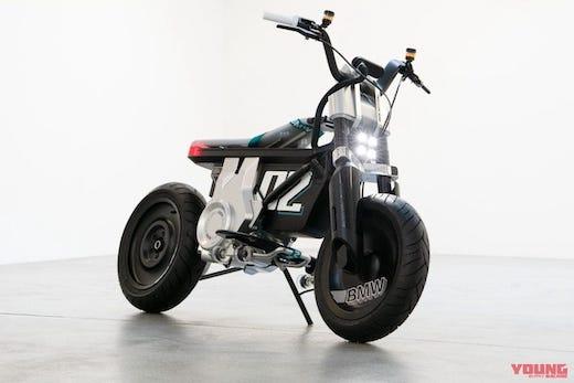 BMWモトラッド 電動バイク コンセプトモデル モンキー125