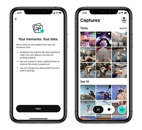 視界を画像や動画でキャプチャできるスマートグラス Facebook「Ray-Ban Stories」が一部地域で販売へ