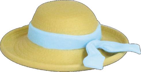 高級婦人帽子ミニチュア