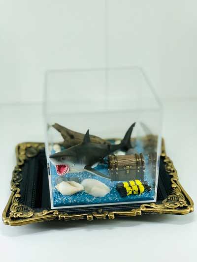 消臭ビーズ ジオラマ 水中 海