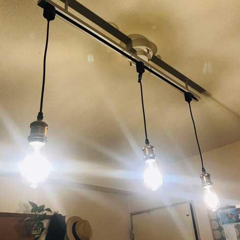電灯 ペンダントライト イカ釣り船